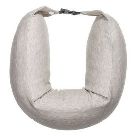 8H Travel U-Shaped Pillow (Cream)
